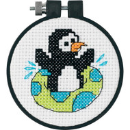Dimensions Playful Penguin Cross Stitch Kit