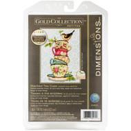 Dimensions Tea Cups Cross Stitch Kit