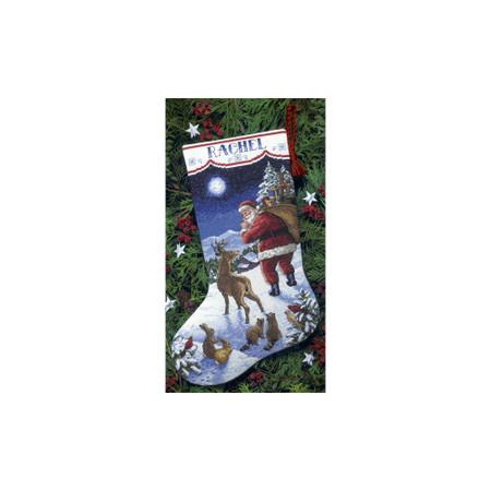 Dimensions Santa's Arrival Stocking Cross Stitch Kit