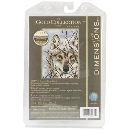 Dimensions Wolf Cross Stitch Kit