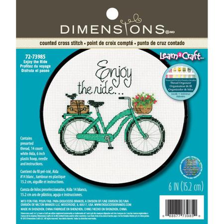 Dimensions Enjoy The Ride Cross Stitch Kit