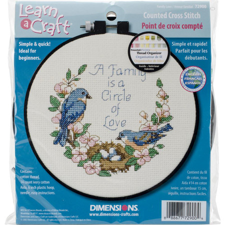 Dimensions Family Love Cross Stitch Kit