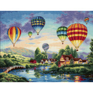 Dimensions Balloon Glow Cross Stitch Kit