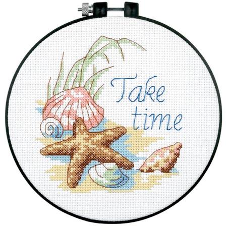 Dimensions Take Time Cross Stitch Kit