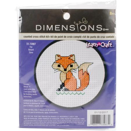 Dimensions Fox Cross Stitch Kit