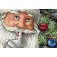 Dimensions Santa's Secret Cross Stitch Kit