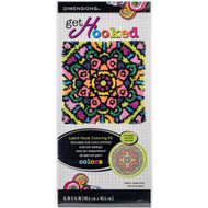 "Dimensions Mandala 16"" x 16"" Latch Hook Kit"