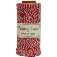 Hemptique Cotton Baker's Twine Spool 2-Ply (410 ft.) - Red