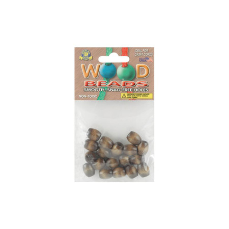 Pepperell 18-Pack Maple Barrel Wood Beads (13 mm x 11 mm)
