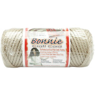 Pepperell Pearl Beige Bonnie Macrame Craft Cord (4 mm x 50 yards)