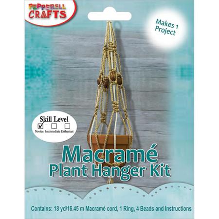 Pepperell Macrame Plant Hanger Kit