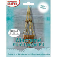 Pepperell Macrame Plant Hanger Kit