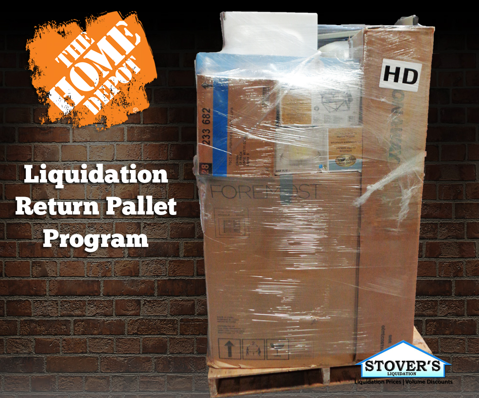 Home Depot Liquidation Return Pallet Program