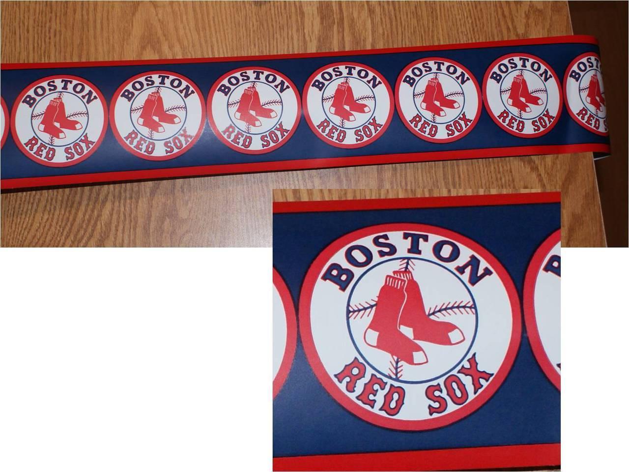 BOSTON RED SOX WALLPAPER BORDER