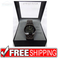 Men's Watch - Van Heusen Charcoal Grey