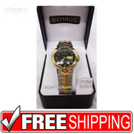 Men's Watch - Benrus Gold and Silver