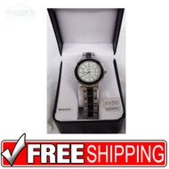 Men's Watch - Embassy Silver and Navy Blue