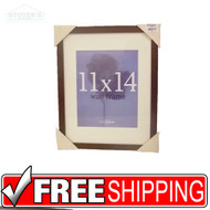 New 11x14 Tribeca Wood Walnut Picture Frame