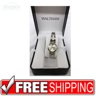 Women's Watch - Waltham Silver and Gold