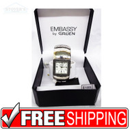 Women's Watch - Square Embassy Silver