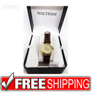 Women's Watch - Gold Circle Waltham