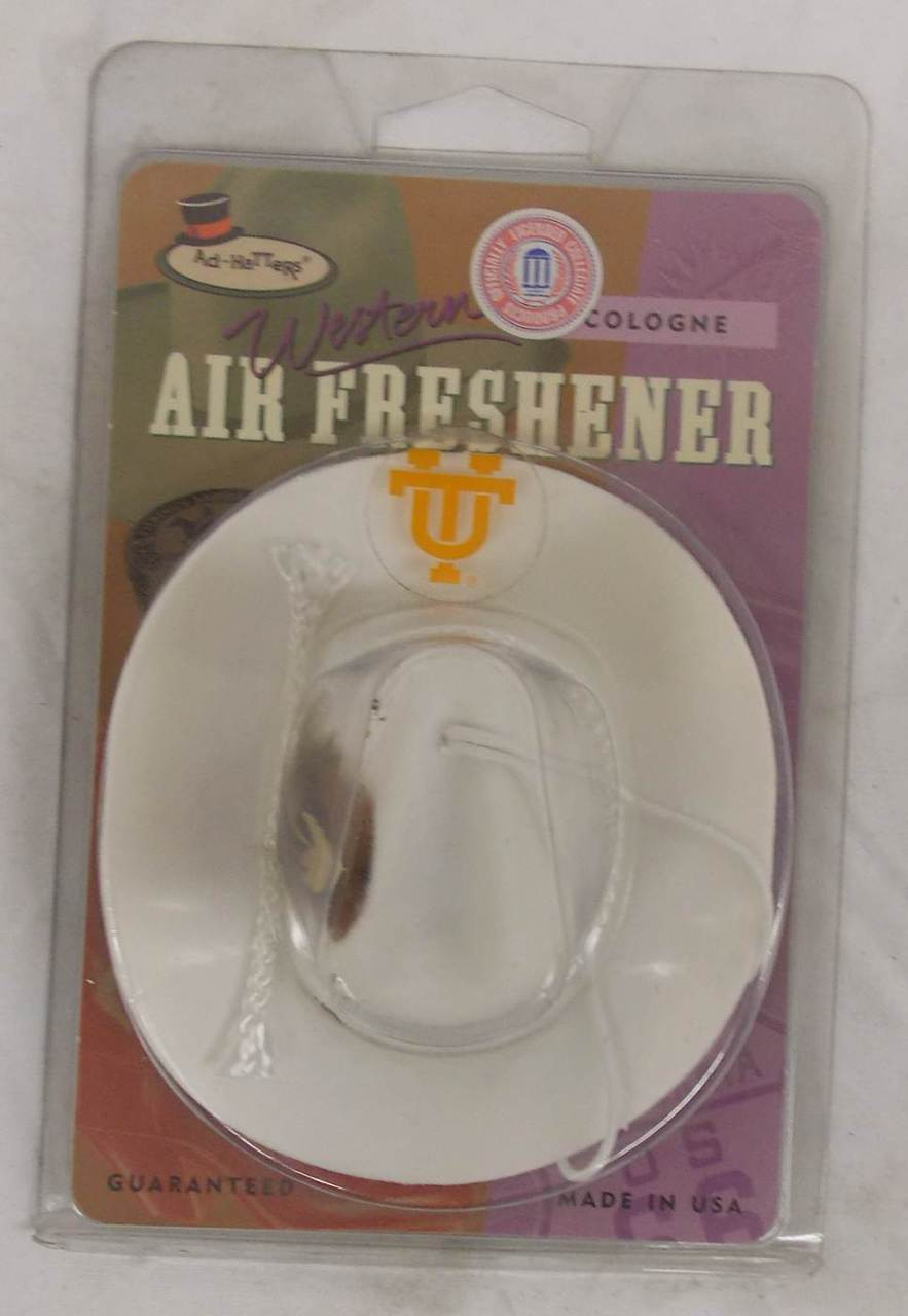 Refillable Cologne Scented Tennessee Vols Cowboy Hat Air