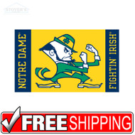 Notre Dame Fightin' Irish Auto tag License Plate Frame Combo bumper Sticker ETC
