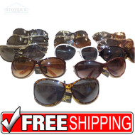 Women's Sunglasses | Bulk of 1 Dozen | Georgio Caponi KFS9