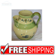 "NEW Ambiance Collection ""Guirlandes Bleues"" 64 ounce Pitcher Dishes Dinnerware"