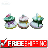 3 Fruit Tea Lights with Ribbon Design - Box of 72