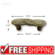 Cabinet Knobs & Handles - Woodlands Fossil Stone Series