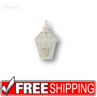 Outdoor LIght Hanging Pendent - 432438 - White