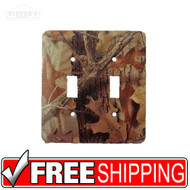 Light & Socket Plate | Advantage Timber | Outdoors-Themed | NEW