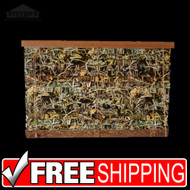 """2"""" Wood Camo Blinds   Realtree Max-4   Outdoors-Themed   NEW"""
