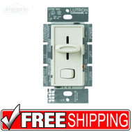 Lutron | SELV-300P-LA | 300-Watt | Low-Voltage Dimmer | Light Almond