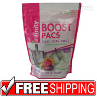 Infinity   Boost Pacs   Plant Food   20-20-20 plus Micronutrients