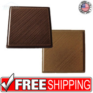 2x2 Deco | Metal Look | Estrada Insert Brass | Tile 436026011
