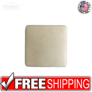 2x2 Deco | Metal Look Decos | CAS Classic Pillow Insert Travertine | STND108030201
