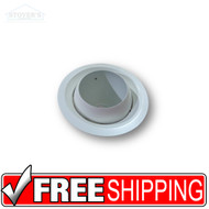 "Lighting Trim | 6"" Eyeball 75W R-30 Trim Only 