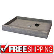 Shower Base | wedi | One Step Shower Base with Center Drain | 36x60 | Free Shipping