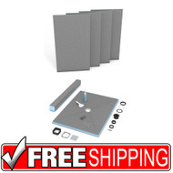 Shower Kit | wedi | Fundo Primo Shower Kit | 48x48 | Free Shipping