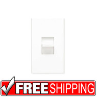 Lutron | Nova Preset Fluor Dimmer | Light Almond | Free Shipping