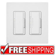 Lutron | Maestro 600 Watt Bathroom Package | White | Free Shipping
