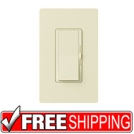 Lutron | Diva 600-Watt 3-Way Magnetic Low-Voltage Dimmer | Almond | Free Shipping