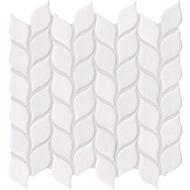 Vanilla Leaf Crackled Mosaics | Glass Mosaic | FOB TN | FREE SHIPPING