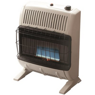 Heatstar |Vent-Free Blue Flame Natural Gas Heater with Thermostat and Blower | 856795560607
