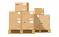 AMAZON GAYLORDS | PALLET 106