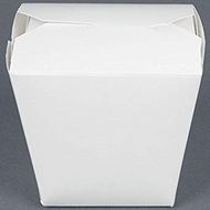 FOLD-PAK 16MWWHITEM WHITE PAPER TAKE OUT CONTAINERS | BROWN PALLET