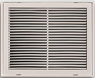 "Tru-Aire | Aluminum Fixed Bar Return Air Grille | 803492206208 | 12""X 12"""