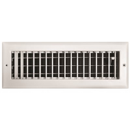 "Tru-Aire | Steel Stamped Toe Space Floor Grille | 803492281021 | 2""X 12"""